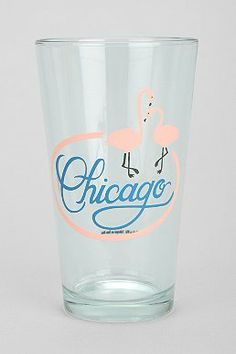 Chicago Pint Glass Info