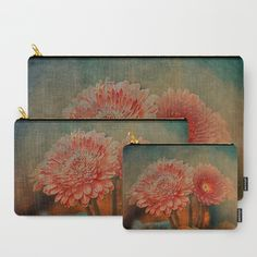 Gerbera mystery(vintage). Carry-All Pouch