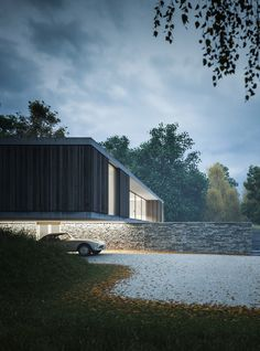 Private House in Dorset, England by Ström Architects