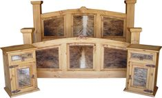 COWHIDE BEDS, COWHIDE BEDROOM FURNITURE, COWHIDE BEDROOM SUITES
