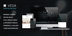 See More Vesa Responsive Parallax One Page Templateonline after you search a lot for where to buy