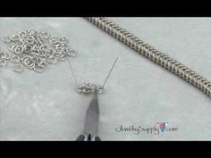 How to make your own chainmaille jewelry (bracelets, necklaces). This site has videos
