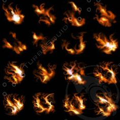 Fire Particle Texture Texture tga fire emitter sheet