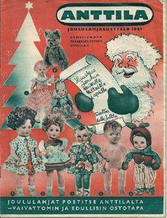 Anttila, Joululahjaluettelo 1961 Old Commercials, Magazine Articles, Old Ads, Historian, Finland, Album Covers, Nostalgia, Retro, Movie Posters