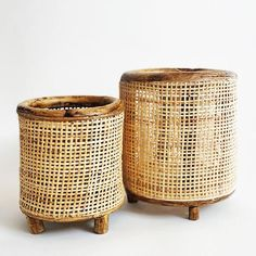 Raw Earth Hanging Planter - Chalk White– Pigment Large Candle Holders, Plant Holders, Large Hanging Planters, Boho Living Room, Modern Spaces, Rattan, Accent Decor, Planter Pots, Hand Weaving
