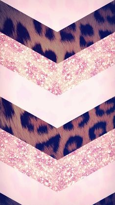 Pink sparkly leopard wallpaper *pink and flowers wallpaper i