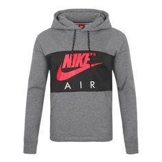 Details zu Nike M Nsw Hoodie Po Air Ho Hoody Pullover Herren  Kapuzenpullover Hoodie Grau M f020e02436