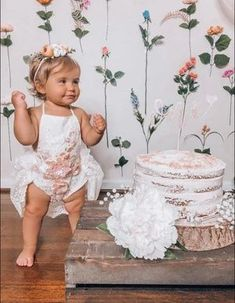 Hazel Vintage Ivory Floral Birthday Tutu Romper This gorgeous ivory tutu romper showcases delicate detailing through the lace skirt and pastel lace floral motif. The cord straps are soft to the skin and are adjustable so that it isn't so tight on your child's shoulders. Great for a first birthday shoot, or a summer soiree! Baby Girl 1st Birthday, First Birthday Outfits, Birthday Tutu, Birthday Ideas, Boho Baby Clothes, Flower Girl Dresses Boho, Ruffles, Victoria, Baby Boutique