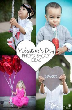 Valentine's Day is the perfect excuse to capture some great pictures of your cutie-pies! These Photo Shoot Ideas from A Night Owl are simple, sweet, and bound to be a keepsake you cherish forever!