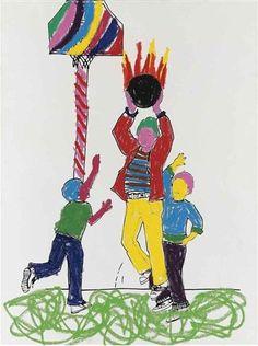 Glenn Ligon, Boys with Basketball Version 2001 / vinyl-based paint, oilstick, silkscreen ink, gesso on canvas Glenn Ligon, Art Prompts, Motto, Artsy Fartsy, Basketball, Museum, Paintings, Ink, Canvas