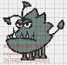 Despicable Me perler bead pattern
