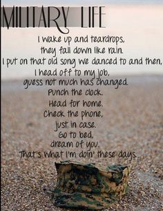 Never even thought of a Rascal Flatts song for this deployment ♡