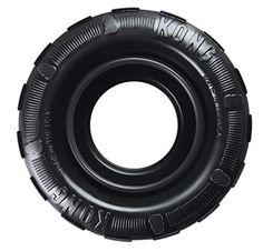 Le KONG Traxx est un pneu à mâcher résistant, conçu pour offrir des sensations de mâchage ultimes. Ce jouet est parfait pour les jeux à rebonds de type lancer/rapporter.
