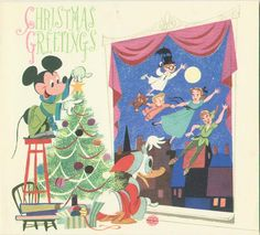 Disney Christmas card, 1953