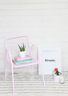 DIY chair makeover!