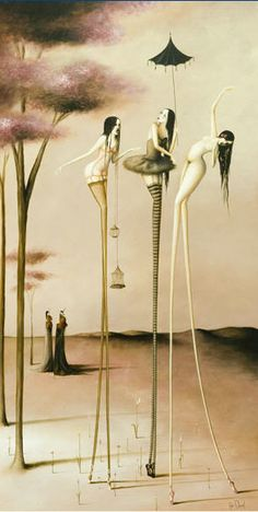 Rozi Demant, New Zealand Artist with a very unique style. Pole Dancing, Love Art, Surrealism, Art Photography, Fantasy, Album, Artist, 1984, Inspiration