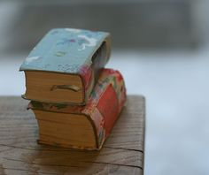 Tiny Old Books