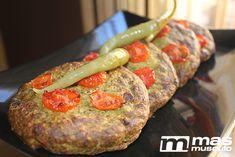 Burger de brócoli y atún fitness - masmusculo