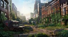 The Last Of Us concept art | Aaron Limonick (click source for more!)