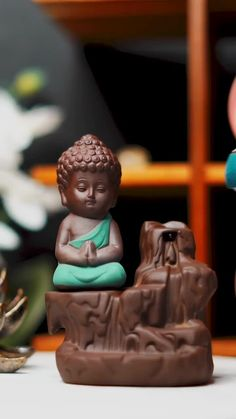Buddha Statue Home, Small Buddha Statue, Buddha Home Decor, Buddha Art, Budha Statue, Buddha Peace, Buddhism Wallpaper, Krishna Wallpaper, Baby Buddha