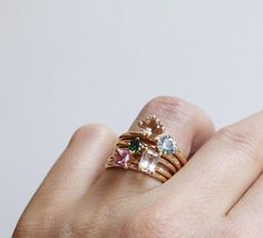 How many Lucy rings make the ultimate stack?