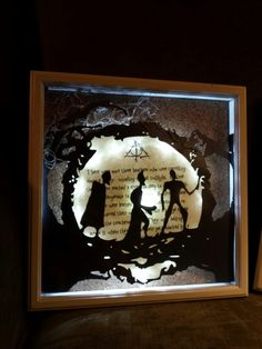 Deathly Hallows , Tale of the Three Brothers shadow box.