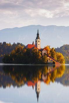 ✶ Bled Island on Bled Lake, SLOVENIA ✶