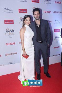 Sunny Leone & Daniel Weber at Filmfare Glamour & Style Awards 2015 in Mumbai