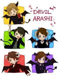 Arashi pocky
