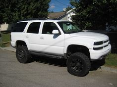 Most Superb Chevy Tahoe Lifted Photo Collections - Awesome Indoor & Outdoor Lifted Chevy Tahoe, Jacked Up Chevy, Chevrolet Blazer, Chevrolet Tahoe, Chevrolet 2017, Chevrolet Silverado, Lifted Chevy Trucks, Gm Trucks, Pickup Trucks
