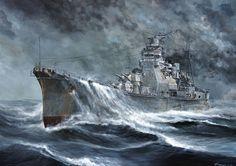 The Heavy cruiser Takao.