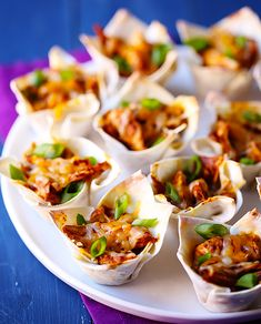 Mexican Recipes: Chicken Enchilada Cups