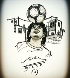 Football Tattoo, Football S, World Football, Cr7 Tattoo, Maradona Tattoo, Iphone Wallpaper Travel, Diego Armando, Naruto Vs Sasuke, Action Poses