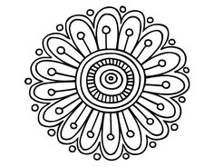 Daisy mandala coloring page Mandala Pattern, Mosaic Patterns, Mandala Design, Embroidery Patterns, Mandala Skull, Mandala Art, Mandala Coloring Pages, Coloring Book Pages, Flower Doodles