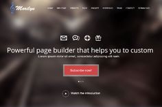 ST Marilyn - One Page Joomla Template with fully responsive, 2 home versions, 2 color profiles.