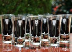Gift from the bride to the groomsmen?