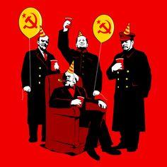 Artist Of The Day TOM BURNS Buy: www.neatoshop.com/product/The-Communist-Party-original?utm_content=buffer11968&utm_medium=social&utm_source=pinterest.com&utm_campaign=buffer #PureHemp #TomBurns #ProudSupporterOfTheArts