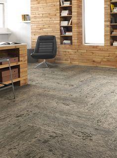 Reawakened Tile 12BY36, Lees Commercial Modular Carpet | Mohawk Group
