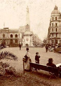 Plaza de Mayo, Buenos Aires, fines del siglo XIX.