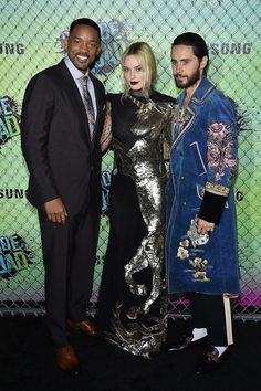 """Margot Robbie's Unicorn Dress Was The Star Of The """"Suicide Squad"""" Premiere"""