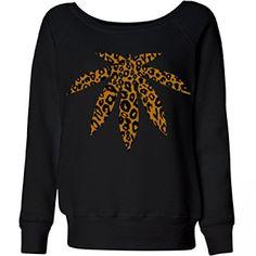 Weed Slouchy Sweatshirt: Ladies Bella Wideneck Sweatshirt  - See more at: http://www.greenking.tk/product/weed-slouchy-sweatshirt-ladies-bella-wideneck-sweatshirt/#sthash.bUIuTFp7.dpuf Fashion  | Sweater | Shirt | Top | T-Shirt | Hoodie | Sweatshirt | TShirt | Tee | Tunic | Vest | Blouse | Marijuana | Cannabis | Clothing | Clothes | Weed