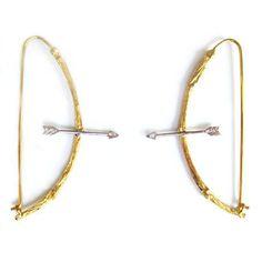 Roseark- K Brunini- Twig Arrow Earrings- Svpply