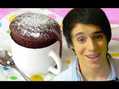 Easy Dessert Recipes For Kids: Chocolate Cake in a Mug   Delishably
