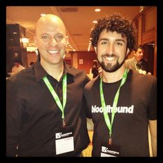 Anthony Krumeich and Jason Portnoy at LeadsCon!