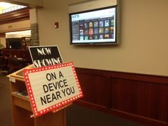 I've been struggling with how to add ebooks to my displays. When I presented at AASL this year, the group think was amazing! I posed this question to them, and one smart librarian said that she p...