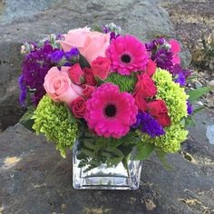 This exquisite mix of feminine blooms is like a breath of fresh Beautiful Flower Arrangements, Wedding Arrangements, Flowers In Hair, Colorful Flowers, Spring Flowers, Floral Arrangements, Beautiful Flowers, Wedding Flowers, Fresh Flowers
