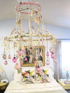 Everlasting Blooms: DIY paper chandelier