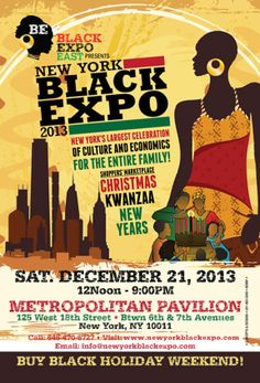 Get ready for the NY Black Expo coming to #MetPavilion 12/21