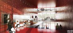 Nouvelle Comédie Genève. Switzerland. FRES Architectes. 2013