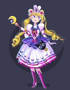 Victoria Ying's Art : Sailor Moon Lolita